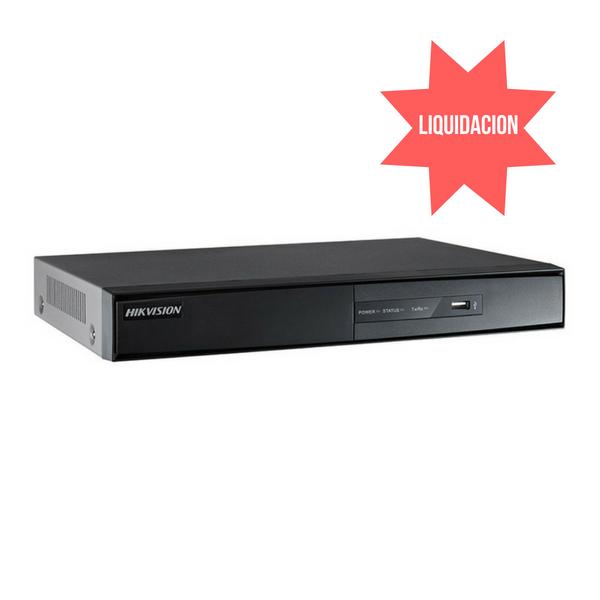 DVR Turbo HD metálico 1080p 2HDD DVR 8 canales HD-TVI, AHD y analógicas soporta 2 HDD hasta 6TB   *PROMO: PRODUCTO EN LIQUIDACION HASTA AGOTAR STOCK