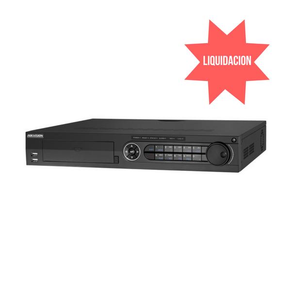 DVR de 32 canales Turbo HD, 4 canales de entrada de audio 4HDD DVR de 32 canales Turbo HD, 4 canales de entrada de audio 4HDD   *PROMO: PRODUCTO EN LIQUIDACION HASTA AGOTAR STOCK