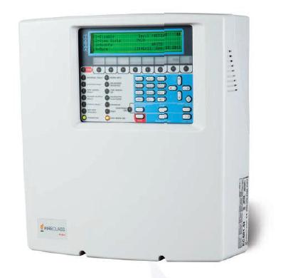 Central compacta de detección de incendios para 128 equipos analógicos FC501. • Loops 3 en 1 • Hasta 400mA compartidos dinámicamente por los 3 loops • Versiones de 1.5A y 2.5A • Hasta 128 direcciones y 32 zonas • Sistema auto-direccionable • Mapeo automático intelli-zone • Interfaz USB • Registro de 4000 eventos • Display LCD • Hasta 4 repetidores • Modulos IP y PSTN opcionales