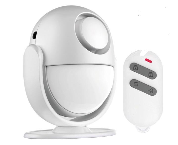 Detector de movimiento con alarma autonomo Detector de movimiento con alarma autonomo Detector de movimiento autónomo con alarma.
