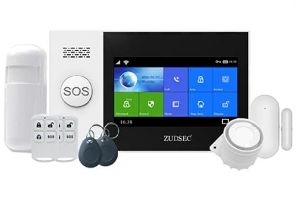 Kit de alarma inalámbrico GSM/WIFI Zudsec Kit de alarma inalámbrico Zudsec
