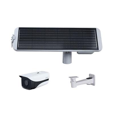Cámara IP 4G con Panel Solar   2MP de resolución  ranura para microSD de 256GB  Supervisión remota por App  Detección inteligente  Alarma entrada-salida  Incluye soporte para cámara  Potencia del panel 60w  Marco de aleación de aluminio  Batería de litio  Dimensiones 1149.5 mm × 367.6 mm × 430.2 mm